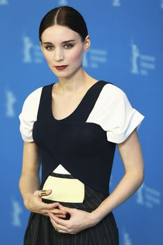 Rooney Mara3 Rooney Mara in Balenciaga at the Side Effects Berlin Photocall