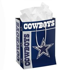 Dallas Cowboys Official NFL Medium Gift Bag