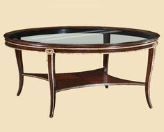 Marge Carson - Ionia Round Cocktail Table - ION00