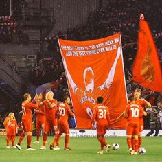 Respect from The Kop for the Captain! #LFC #Gerrard