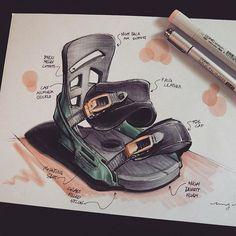 Designers love snowboarding. ❄️🏂 Who else can't wait for the first snow to fall? . Burton product design sketch by @mckay.nilson . . #productdesign #industrialdesign #idsketches #polychromos  #prismacolor #drawingoftheday #drawings #copicsketch #sketchbook #artspotlight #arts_help #worldofartists #art_collective #imaginationarts #artfido #artcollective #nawden #copicmarkers #dibujo #dribbble #behance #bluetomato #illustration #illustratorsoninstagram #boesner #blickartmaterials #dessin…
