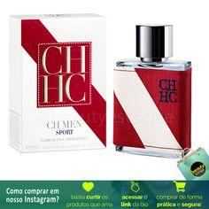 1aaf433f16cf1 CH Men Sport de Carolina Herrera é um perfume Aromático Especiado  Masculino. CH Men Sport