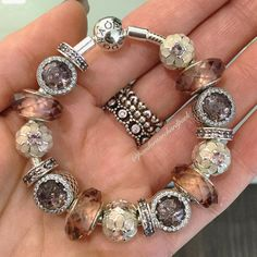 """532 Likes, 6 Comments - Pandora: Orchard Park Mall (@pandoraorchardpark) on Instagram: """"Soft and feminine, these subtle blush charms are a perfect way to add a hint of colour.…"""""""