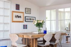 reclaimed wood — Emmerson Dining Table from west elm