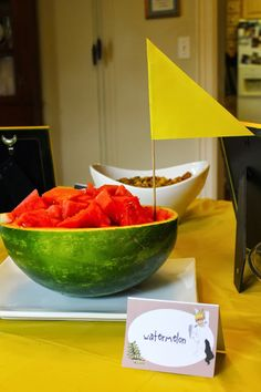 Organized Chaos: Where the Wild Things Are watermelon boat