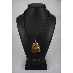 Necklase gilded with gold trial 999 (2)
