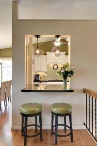 Inspirational Dieser schwarze Granit K che Bar bietet Zugang zu der K che und bietet ausreichend Platz