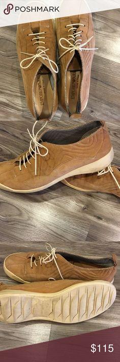 Armani size 8 camel tennis shoes Armani size 8 camel tennis shoes Emporio Armani Shoes