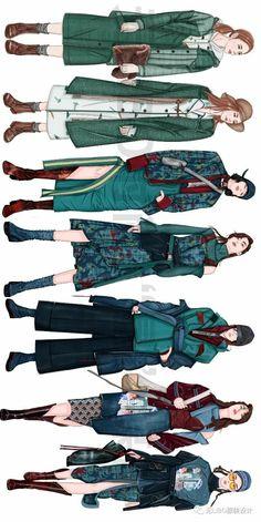 Fashion Portfolio Layout, Fashion Design Sketchbook, Fashion Design Drawings, Fashion Sketches, Mode Collage, Dress Design Sketches, Fashion Illustration Dresses, Illustration Mode, Fashion Figures