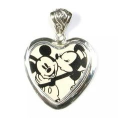 Mickey & Minnie pendant