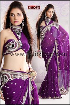 Plum-Plum. love the rich color the embellishment is luxurious, I'd go for modesty for me but on her it looks amazing