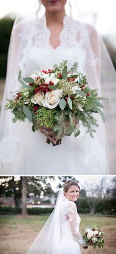 Creative Christmas Wedding