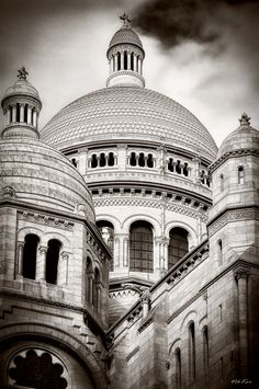 The Basilica of the Sacred Heart of Paris II by Viktor Korostynski, via 500px