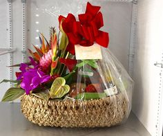 Tropical Splendor Basket: Our Finest Quality Hawaiian Gourmet Gift Baskets and Hawaii-made Products!