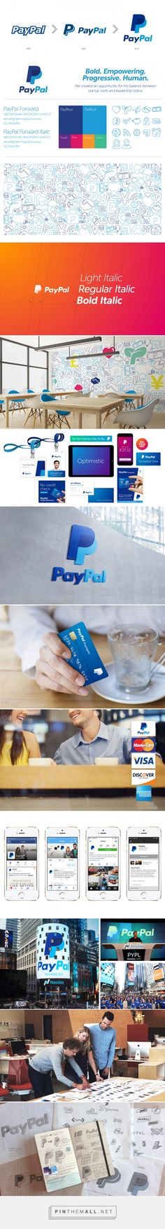 PayPal Rebrand on Behance - created via https://pinthemall.net