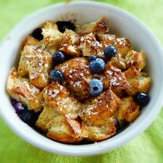 The Life & Loves of Grumpy's Honeybunch: Blueberry French Toast Souffle