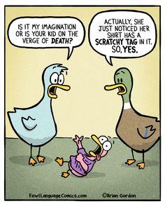 fowl language comics — Bonus Panel