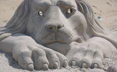 Virginia Beach Art Festival and Sand Sculpture Contest.