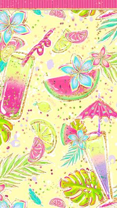 Phone Wallpapers HD Cute Glitter Hot Pink and Colorful Summer - by BonTon TV - Free Backgrounds wallpapers summer wallpaper pozadine bontontv 807270301937928866 Fall Background Wallpaper, Pretty Phone Wallpaper, Holiday Wallpaper, Glitter Wallpaper, Fall Wallpaper, Painting Wallpaper, Pink Wallpaper, Mobile Wallpaper, Pattern Wallpaper