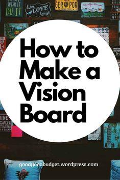 Making A Vision Board, Classic Italian, Budgeting, Wordpress, Boards, How To Make, Vintage Italian, Planks, Budget Organization