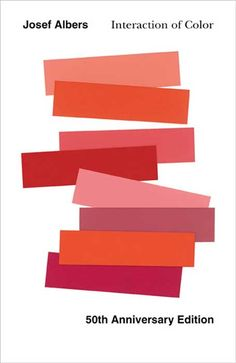 Interaction of Color by Josef Albers (cover artwork for 50th anniversary edition) - Yale University Press