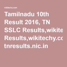 Tamilnadu 10th Result 2016, TN SSLC Results,wikitechy.com, tnresults.nic.in