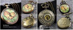 #necklace #accesories #jewelry #fashion Steampunk Vintage Bronze Retro Men Lady Pocket Watch Quartz Clock Necklace Gifts | eBay