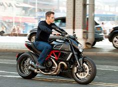 Ducati Diavel & Chris Pine