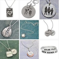 Sterling Silver Mommy Jewelry | Handmade Jewelry | Click the following link to see more http://www.wholesouljewelry.com/category_132/Mommy-Jewelry.htm #mommy #jewelry #sterling #silver #necklaces