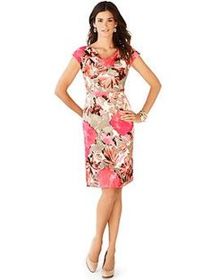 Why didn't I know Banana Republic has a Betty Draper collection? This dress is BEGGING to be worn!