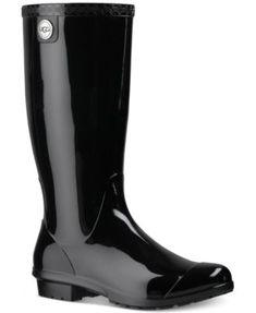UGG® Shaye Tall Rain Boots | macys.com