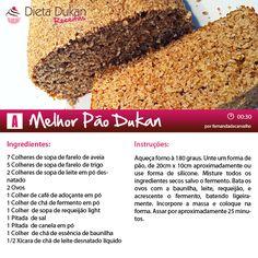 Quer uma opção leve para o seu lanche? Veja como esse pão dukan pode ser uma gostosa alternativa.