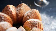 Perunajauhokakku - Kotiliesi.fi Doughnut, Bread, Desserts, Tailgate Desserts, Deserts, Brot, Postres, Baking, Breads
