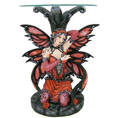 Red Fairy Table