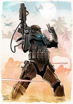 Rogue One - DeathTrooper Star Wars