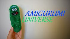 Pickle Rick! (Rick and Morty) Tutorial muñeco de ganchillo de Amigurumi Universe. + English subs - YouTube