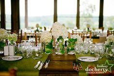 Ideas to enhance a fresh green tablescape: Lindsay Docherty Photography.