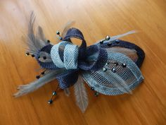 Small 5inch fascinator for my mum. Ma'dore NZ