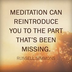Russell Simmons Quote on Meditation