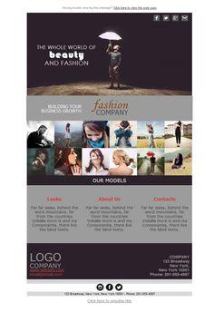 Si trabajas en el mundo de la moda, tu agencia debe mostrar los modelos de la mejor manera posible. Y qué mejor manera que con las plantillas newsletters de Mailify
