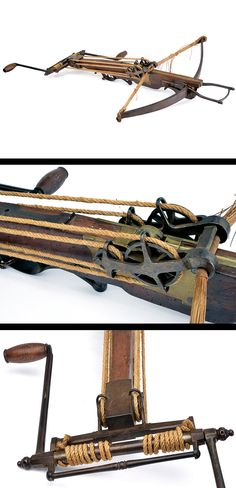 A crossbow with jack,    provenance: Europe dating:  17th Century