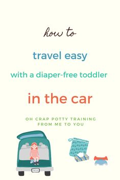 In this post, I share tips and supplies you'll want to have on hand when you start traveling in the car with your newly potty training toddler. I share my tips as a potty training consultant and mama (who's spent a lot of time in the car with my kids) on what you need in the car for your diaper-free child. #pottytraining #pottytrainingtips #ohcrappottytraining #travelwithkids Toddler Travel, Travel With Kids, Cloth Training Pants, Best Potty, Toddler Potty Training, Free Diapers, Toilet Training, Toddler Preschool, Training Tips