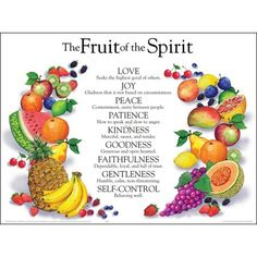 fruits of the spirit - Google Search