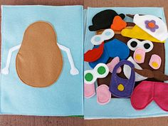 Baby Making: Quiet Book {About Ours} also has links to other blogs with pictures of their quiet books.