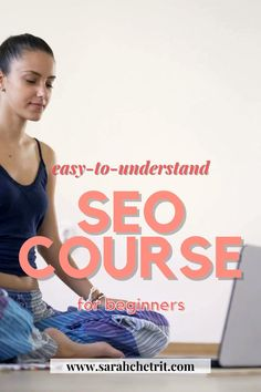 Hi, I'm Sarah, a blogger. I made this SEO course specifically for bloggers. Want an SEO course that breaks down the technical jargon of SEO into an understandable manner just for bloggers? This is for you. #bloggingtips #seotips #holisticblogger #yogablogger #yoga #beautyblogger #searchengineoptimization #wordpressblogger #blogging101 #bloggingtipsandtricks #seocourse