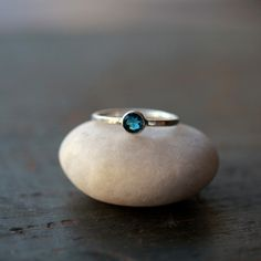 SHIPPING AFTER 12/25 London Blue Topaz Ring Gemstone Solitaire Sterling Silver Band Rich Color For Her Faceted Sparkle Handmade Jewerly by ShopClementine on Etsy https://www.etsy.com/listing/125335473/shipping-after-1225-london-blue-topaz