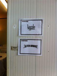 "Mark Tremonti ""Pretty cool moment, I'm a huge fan!!"" Soundwave, Australia, 2012"