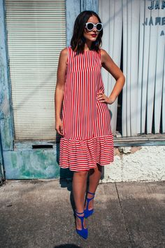 4th of July Outfit Inspiration ⋆ Dress Outfits, Fashion Outfits, Fashion Tips, Dresses, Urban Fashion, Fashion Looks, 4th Of July Outfits, Holiday Fashion, Two Pieces