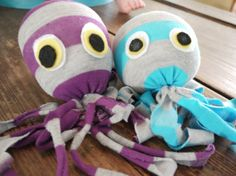 Craft time - Sock-topus... I have a feeling Millie would LOVE these