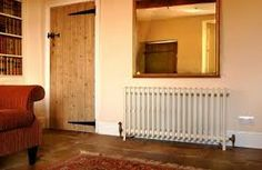 CREAM CAST IRON RADIATOR - Google Search Column Radiators, Cast Iron Radiators, Column Design, Interior Inspiration, Classic Style, New Homes, It Cast, Home Appliances, Traditional